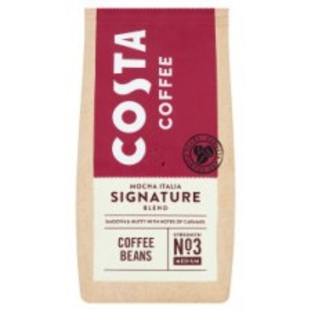 Costa Signature Blend Coffee Beans 200G offer at £2