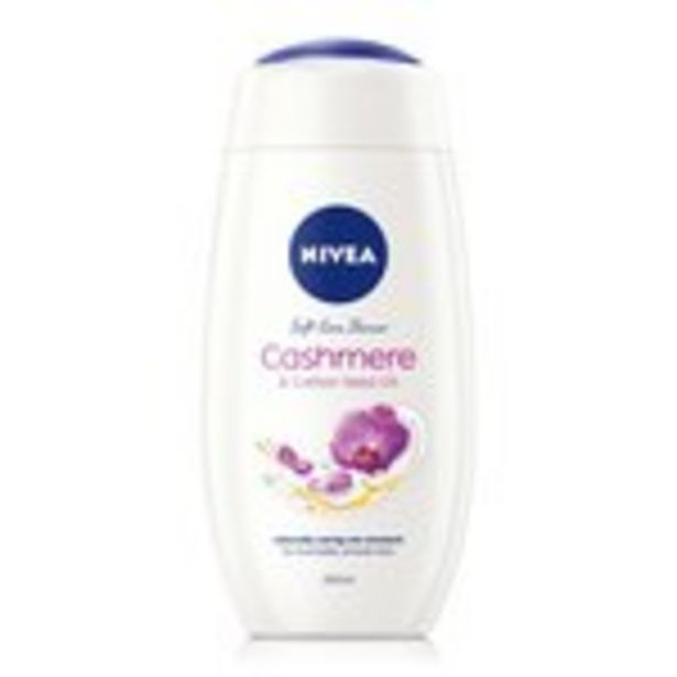 NIVEA Shower Gel, Indulgent Moisture Cashmere offer at £1