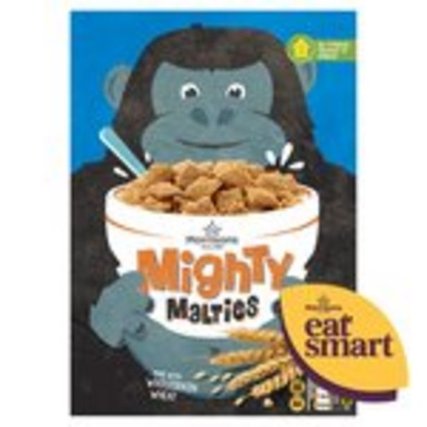 Morrisons Mighty Malties offer at £0.79