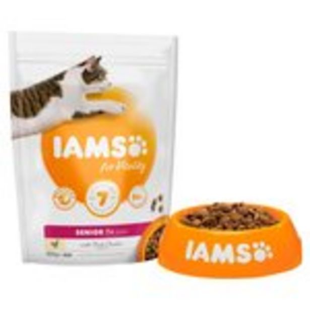 Iams For Vitality Senior 7+ Years With Fresh Chicken offer at £3.5