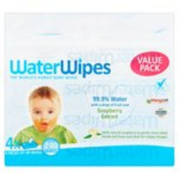 Waterwipes with Soapberry  offer at £5