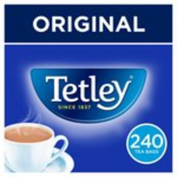 Tetley Original Tea Bags x240 offer at £3.5