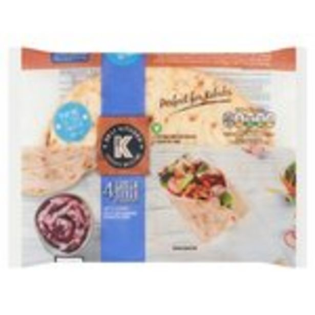 Deli Kitchen Greek Style Flatbreads offer at £1