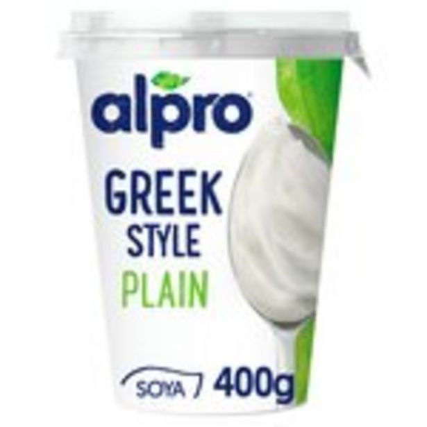 Alpro Soya Greek Style Plain offer at £1