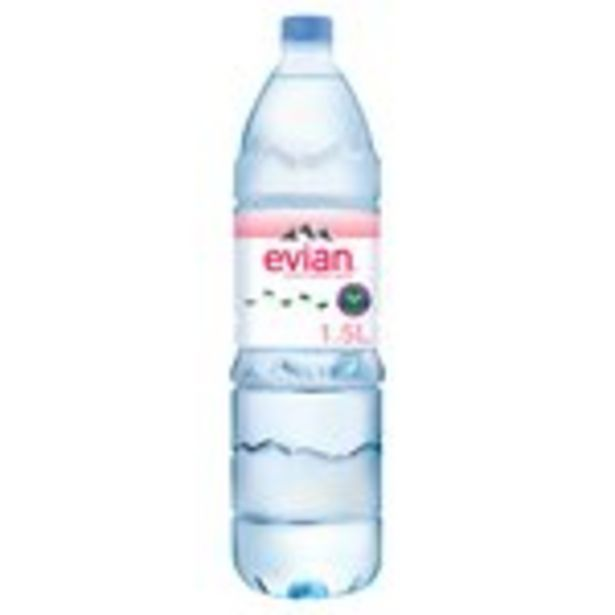 Evian Natural Mineral Water  offer at £1