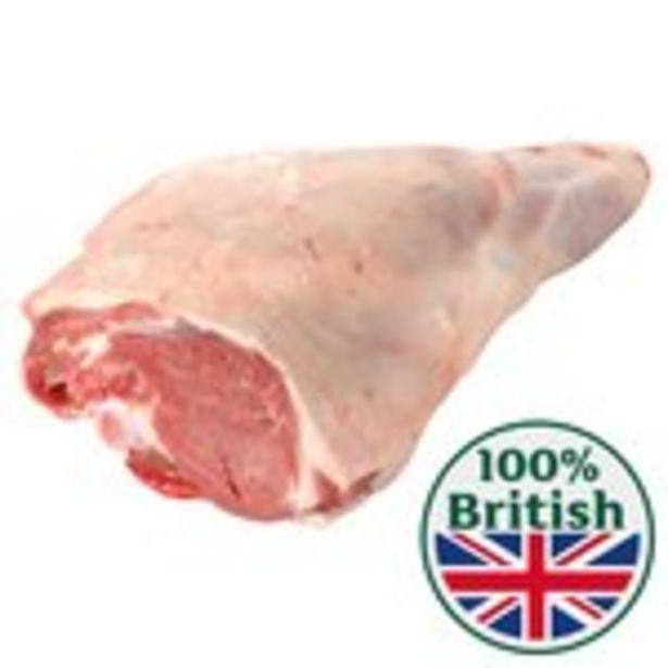 Morrisons Whole Lamb Leg Roast offer at £23.63