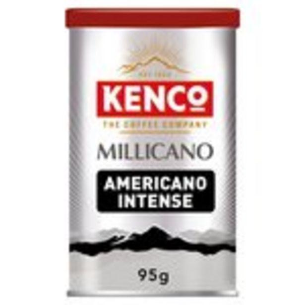 Kenco Millicano Americano Intense Instant Coffee offer at £3