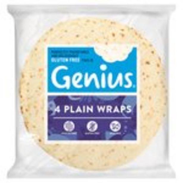 Genius  Plain Wraps offer at £2.5