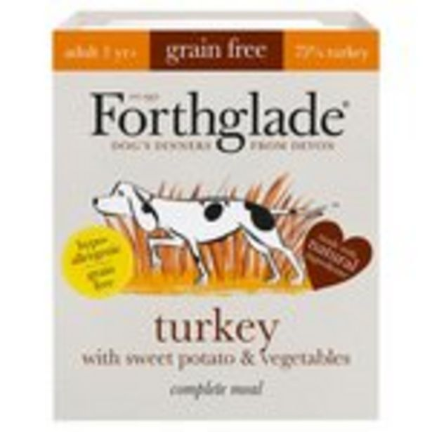 Forthglade Grain Free Adult Naturla Turkey offer at £1