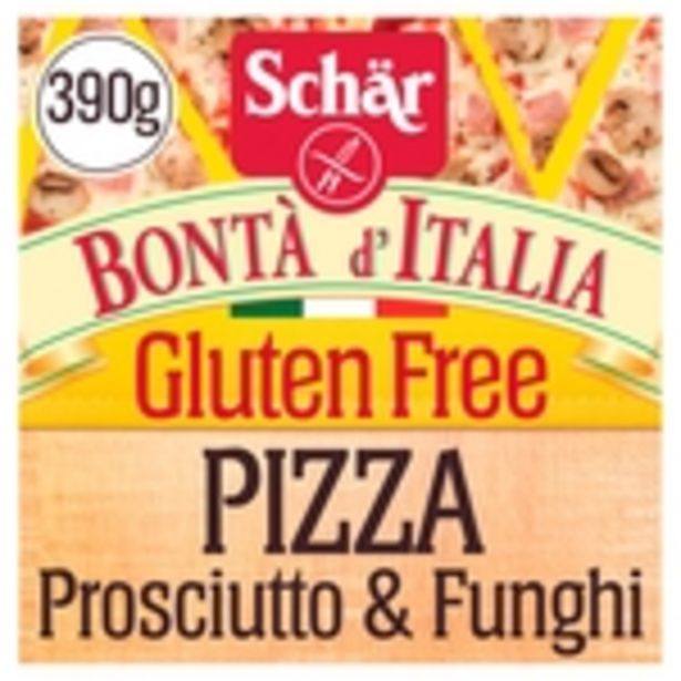 Schar Gluten Free Pizza Prosciutto & Funghi Lactose Free offer at £3