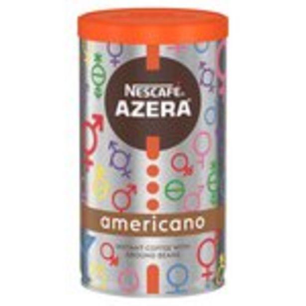 Nescafe Azera Americano Instant Coffee offer at £3