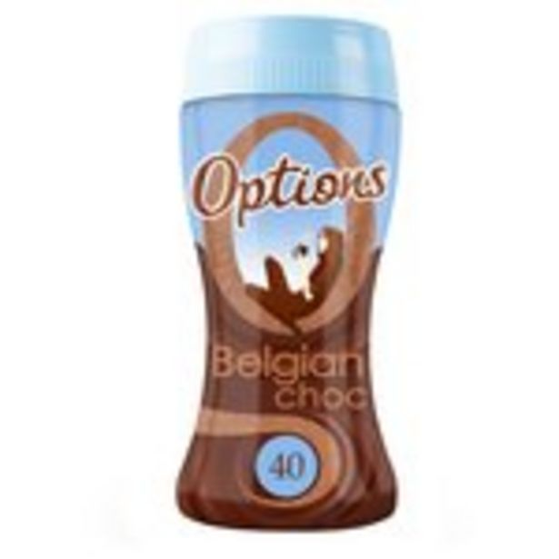 Options Belgian Chocolate offer at £2