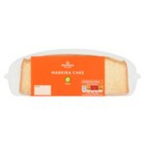 Morrisons Madeira Slab Cake offer at £1.25