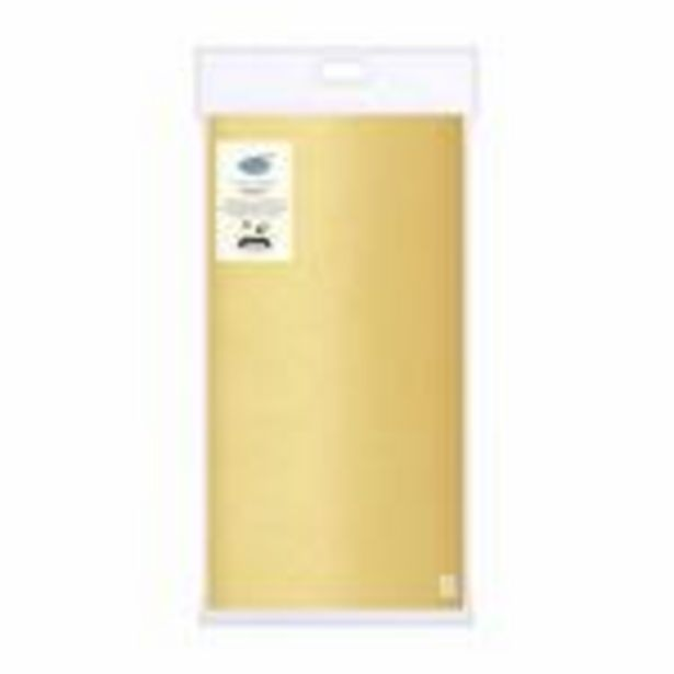 Duni Table Cover 118x180cm , Gold offer at £3.95