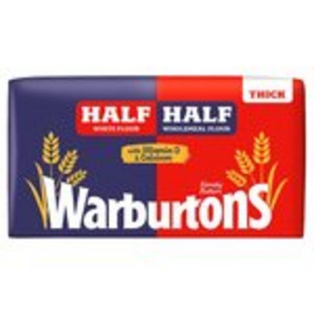 Wonderloaf Half+Half Thick White Bread offer at £0.75