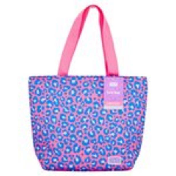 Polar Gear Leopard Print Girl Power Lunch Bag offer at £4