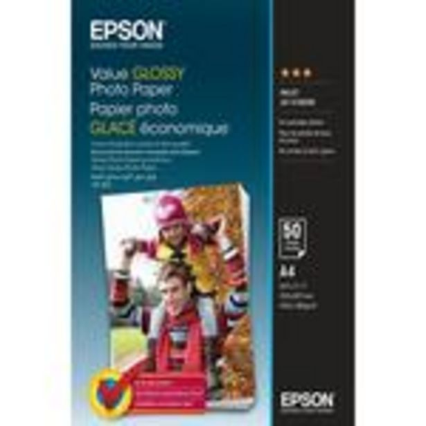 Epson Everyday Photo Paper A4 offer at £14.99