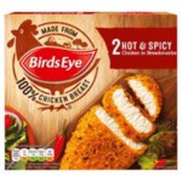 Birds Eye 2 Hot & Spicy Chicken  offer at £0.99