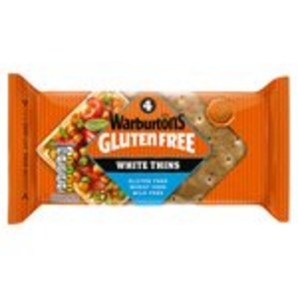 Warburtons Gluten Free White Sandwich Thins offer at £2
