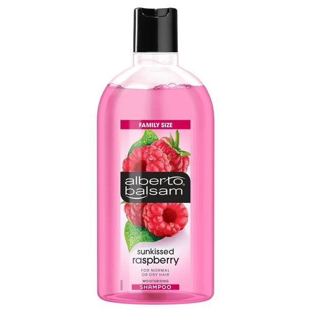 Alberto Balsam  Sunkissed Raspberry Shampoo 750ml offer at £1.5