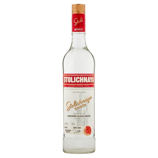 Stolichnaya The Original Premium Vodka 70cl offer at £14.99