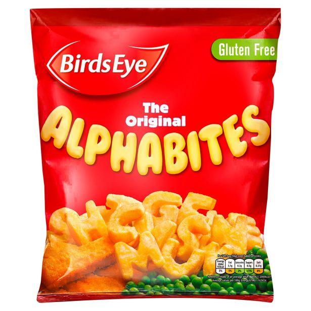 Birds Eye The Original Alphabites 456g offer at £1