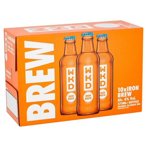 WKD Iron Brew 10 x 275ml offer at £9.99