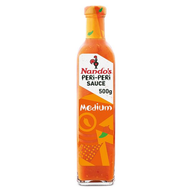 Nando's Peri-Peri Sauce Medium 500g offer at £3