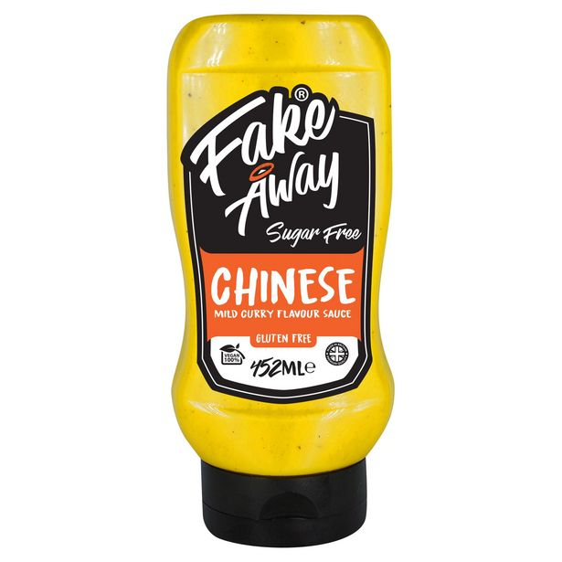 Fake Away Sugar Free Chinese Mild Curry Flavour Sauce 452ml offer at £1.5