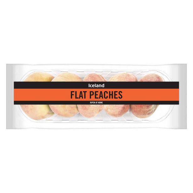 Iceland Flat Peaches offer at £1