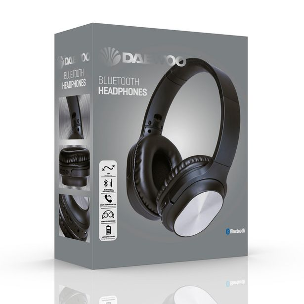 Daewoo Bluetooth Headphones offer at £11.99