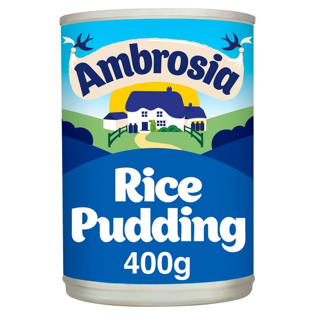Ambrosia Rice Pudding Can 400g offer at £0.85