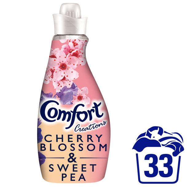 Comfort Creations Cherryblossom & Sweetpea Fabric Conditioner 33 Wash 1.16L offer at £2