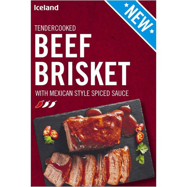 Iceland Beef Brisket with Mexican Style Spiced Sauce 400g offer at £2