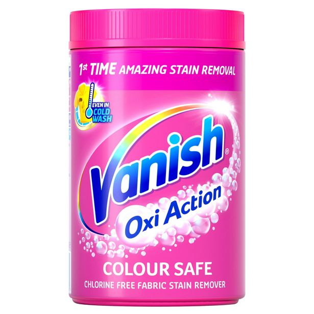 Vanish Oxi Action Fabric Stain Remover Powder 2.1 kg offer at £7.5
