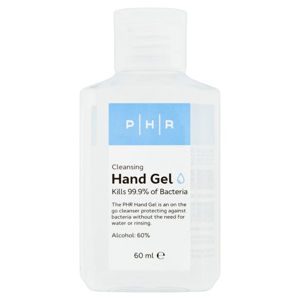 PHR Cleansing Hand Gel 60ml offer at £1