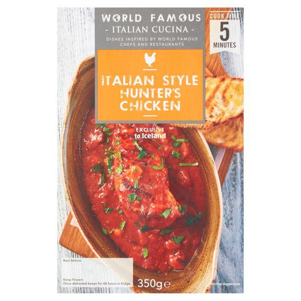 World Famous Italian Cucina Italian Style Hunters Chicken 350g offer at £1