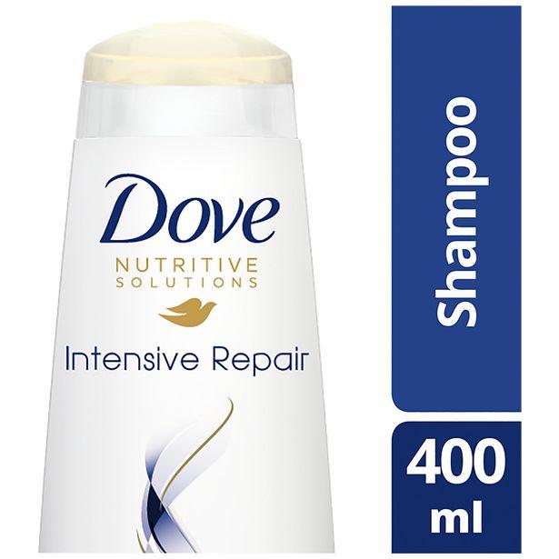 Dove  Intensive Repair Shampoo 400ml offer at £1.8