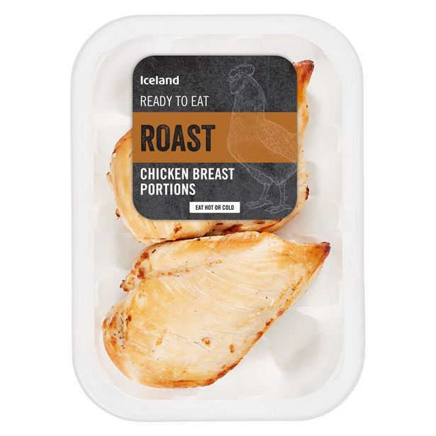 Iceland 2 Roasted Chicken Breast Fillets 190g offer at £2