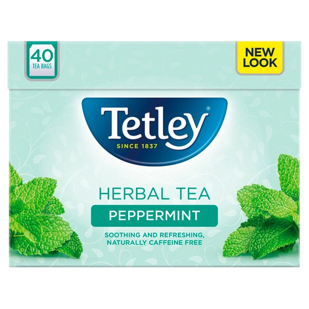 Tetley Peppermint Tea Bags x40 offer at £2