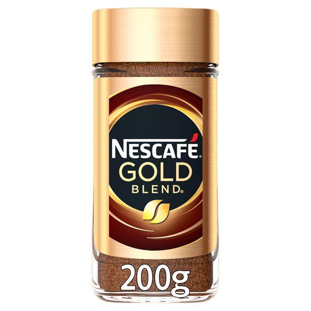 Nescafé Gold Blend Instant Coffee 200g offer at £4