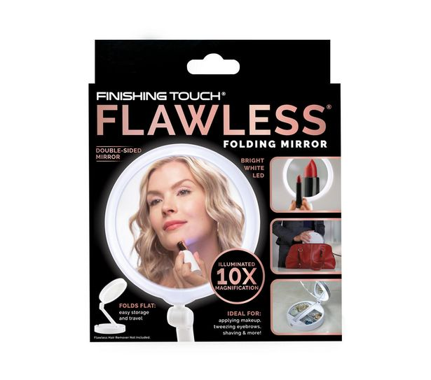 JML Finishing Touch Flawless Folding Mirror offer at £7.49