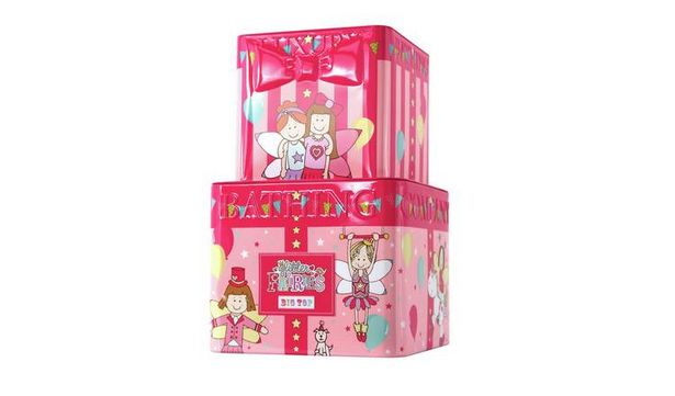 The Luxury Bathing Company Glitter Fairies Big Top Gift Set offer at £6
