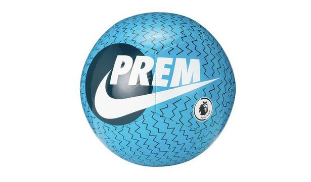 Nike Premier League Pitch Size 5 Football - Blue and White offer at £6.99