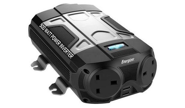 Energizer 500W Power Inverter. offer at £56.25
