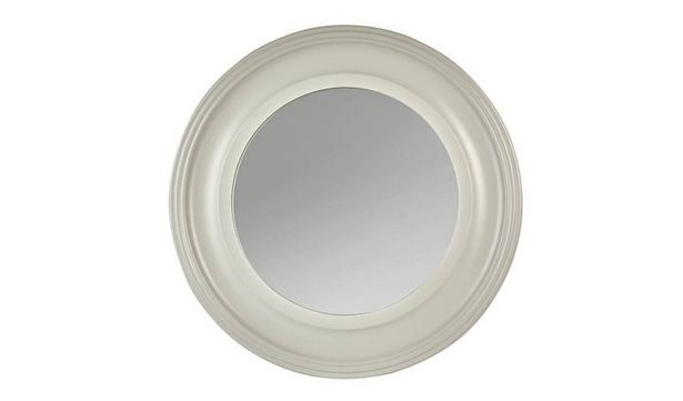 Argos Home Everyday Luxury Round Wooden Framed Wall Mirror offer at £17.5