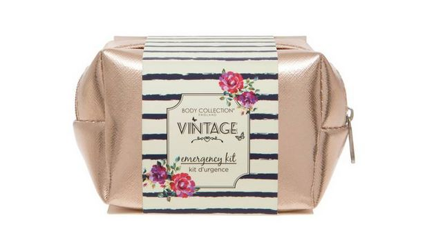 Body Collection Vintage Emergency Kit Gift Set offer at £3.99
