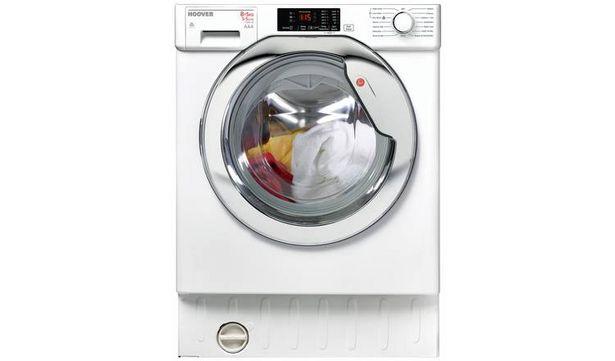 Hoover HBWD8514DC 8KG/5KG 1400 Spin Integrated Washer Dryer offer at £379.99