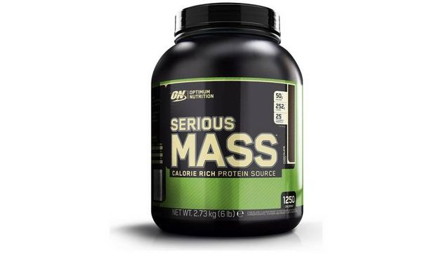 Optimum Nutrition Serious Mass Chocolate Shake 2.73kg offer at £19.49