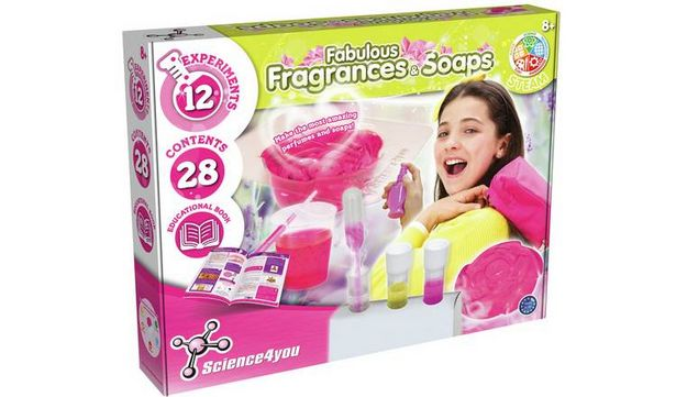 Science 4 You Fabulous Fragrances and Soaps offer at £6.99